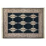 Gertmenian Handknotted Wool Rug Heirloom Collection Plush Persian Oriental Carpet, X Large 9x12 and Up, Green