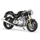 GAOQUN-TOY Motorcycle Model 1:18 Scale Motorcycle Norton Commando 961 SE Simulation Alloy Model Decoration Series Gift (Color : Black, Size : 113.66.3cm)