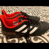 Adidas Shoes | Adidas Predator Soccer Cleats (Kids 5.5womens 7) | Color: Red | Size: Kids 5.5womens 7