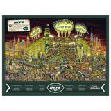 New York Jets 500-Piece Joe Journeyman Puzzle
