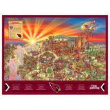 Arizona Cardinals 500-Piece Joe Journeyman Puzzle