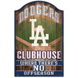 """WinCraft Los Angeles Dodgers 11'' x 17'' Vintage Wood Sign"""