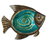Regal Art & Gift Fish Wall Decor Metal in Blue/Brown, Size 17.0 H x 1.75 W x 13.5 D in   Wayfair 10908