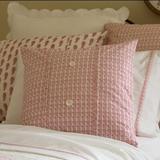 Ebern Designs Ewer Cotton Down Throw Pillow Down/Feather/Cotton, Size 21.0 H x 21.0 W x 4.0 D in   Wayfair 1021RELOISE-LT