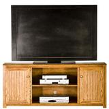 """Eagle Furniture Manufacturing Adler Solid Wood TV Stand for TVs up to 65"""" Wood in Green, Size 27.0 H x 60.0 W x 17.0 D in 