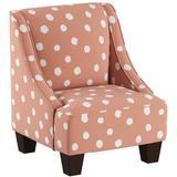 Harriet Bee Frahm Swoop Arm Chair Upholstered in Pink, Size 22.0 H x 18.0 W x 18.0 D in | Wayfair A71A6F91C00A40869A3873215DC0A172