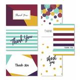 Cavepop Modern Thank You Cards - Set Of 36 in Green, Size 6.0 H x 4.0 W x 0.05 D in   Wayfair HCS-CPTYCD-WT
