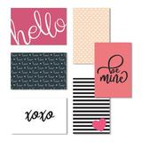 Cavepop Blank Love Note Cards, Valentine'S Day Greeting Cards - Set Of 36 in Pink, Size 6.0 H x 4.0 W x 0.05 D in | Wayfair HCS-LVNTCD-WT