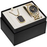 Gold-tone Stainless Steel & Swarovski Crystal Bracelet Watch 42mm - Metallic - Bulova Watches