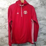 Adidas Shirts & Tops | Adidas New York Redbulls Soccer Sweater Boys Xl | Color: Red | Size: Xlb