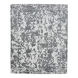 """Solo Rugs Contemporary Hand Loomed Area Rug, 8' 0"""" x 10' 0"""", Gray"""