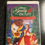 Disney Other | Beauty And The Beast - The Enchanted Christmas | Color: black | Size: Vhs