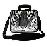 """Funky Planet 17"""" 17.3"""" inch Shoulder Laptop Sleeve Case Bag Compatible with Apple MacBook air pro Dell Lenovo Samsung Asus Computer Tablet or Ipad"""