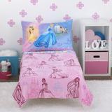 Disney Puppy Dog Pals - Puppy Pal Fun 4 Piece Toddler Bedding SetPolyester in Pink   Wayfair 6384380
