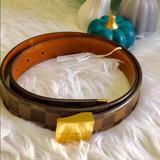 Louis Vuitton Accessories | Belt | Color: Brown/Gold | Size: 8834