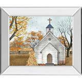 """""""22 in. x 26 in. """"""""Blessed Assurance"""""""" By Billy Jacobs Mirror Framed Print Wall Art - Classy Art 8404MF"""""""