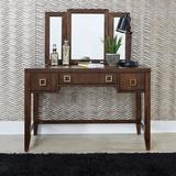 Bungalow Vanity & Mirror - Homestyles Furniture 5507-70