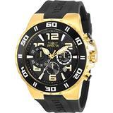 Invicta Pro Diver Chronograph Quartz Black Dial Men's Watch 30939