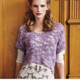Anthropologie Sweaters   Augden For Anthropologie Knit Sweater   Color: Cream/Purple   Size: S