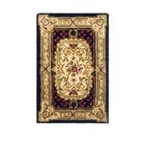 Safavieh Black Classic Flanagan Floral Bordered Area Rug Collection