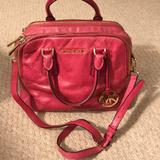Michael Kors Bags | Beautiful Michael Kors Convertible Handbag | Color: Pink | Size: Os