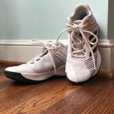 Adidas Shoes   Boys Adidas Basketball Shoes. Kids 4, Womens 6.   Color: White   Size: 4b