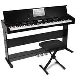 Alesis Virtue 88-key Digital Piano with Wood Stand & Bench