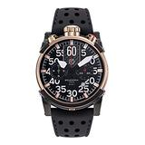 Mens Ion Plated Rose Gold/Ion Plated Black CT Scuderia Watches Saturno CWEG00319
