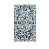 Safavieh Ivory/Blue Evoke Contemporary Ivory Area Rug Collection