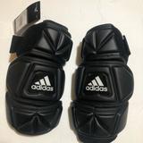 Adidas Accessories | Adidas Lacrosse Arm Pads Size Xl | Color: Black/White | Size: Xl