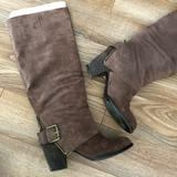 Nine West Shoes | Brown Suede Boots | Color: Brown | Size: 7