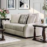 "Latitude Run® Isla 79"" Flared Arm Loveseat w/ Reversible Cushions in Brown, Size 39.0 H x 79.0 W x 49.0 D in | Wayfair"