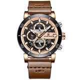 [Watches for Men ] NAVIFORCE 9131 Mens Watch - Business Fashion Luxury - Digital Quartz Dual Time Display - Casual Japanese Quartz Watches (05)