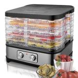 Ancheer 5 Tray Food Dehydrator in Gray, Size 14.96 H x 11.41 W x 12.59 D in | Wayfair US01AMB005245_US
