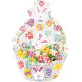 Creative Converting Easter Basket Bag Plastic in Green/Pink/Red | Wayfair DTC328291BAG