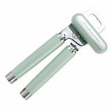 KitchenAid Can Opener Stainless Steel/Plastic in Green, Size 3.0 W x 1.25 D in | Wayfair KO199OHPIA