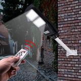 Ktaxon Street Solar Powered Aluminum Pathway Light Aluminium/Metal in Gray/White, Size 4.0 H x 7.0 W x 4.0 D in   Wayfair wf1-G32000358