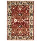 Lauren Ralph Lauren Ines Oriental Red/Beige Area Rug Polypropylene in Red/White, Size 72.0 W x 0.39 D in   Wayfair LRL1293C-6