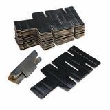 HearthSong Fantasy Fort Clip Cardboard in Black, Size 1.0 H x 5.5 W x 10.75 D in   Wayfair 732643