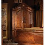 Michael Amini Cortina Armoire in Honey Walnut Wood in Brown, Size 61.75 H x 54.25 W x 24.25 D in | Wayfair