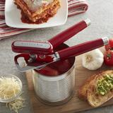 KitchenAid Can Opener Stainless Steel/Plastic in Red, Size 3.0 W x 1.25 D in | Wayfair KO199OHERA