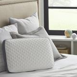 Sealy Memory Foam Medium Support Bed Pillow Polyester/Memory Foam, Size 16.0 H x 24.0 W x 5.75 D in | Wayfair F01-00604-ST0