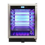 Vinotemp 41 Bottle Single Zone Freestanding/Built-In Wine Refrigerator in Gray, Size 34.37 H x 25.5 W x 23.5 D in | Wayfair EL-WCU104-02