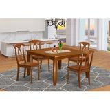 Alcott Hill® Teressa Butterfly Leaf Dining SetWood in Brown, Size 30.0 H in   Wayfair PFNA5-SBR-W