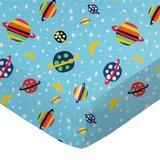 Zoomie Kids Beacon Fitted Bassinet Sheet 100% Cotton in Blue/Brown   Wayfair 7F0B21C308404689957A0ECC3FC79DE3