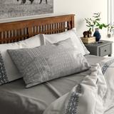Langley Street® Austen Geometric Pillowcase Microfiber/Polyester/Microfiber in Blue, Size King | Wayfair C8D86618774F41B9897DA4F23C4EB7ED