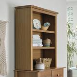 "DaVinci Autumn 43.38"" H x 35.5"" W Bookcase Wood in Brown, Size 43.38 H x 35.5 W x 13.0 D in   Wayfair M4309CT"