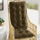 Mistana™ Indoor Rocking Chair Cushion Synthetic in Green, Size 3.0 H x 18.0 W x 28.0 D in | Wayfair 1FE8BF5D3C104FBFB9E6ECB1C977BEDC