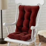 Mistana™ Indoor Rocking Chair Cushion Synthetic in Red, Size 3.0 H x 17.0 W x 22.0 D in | Wayfair E4A2227D43494682B58C7A039DADB1DC