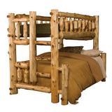 Lytle Solid Wood Standard Bunk Bed by Loon Peak® kids Metal in Brown, Size 72.0 H x 50.0 W x 92.0 D in   Wayfair 10148